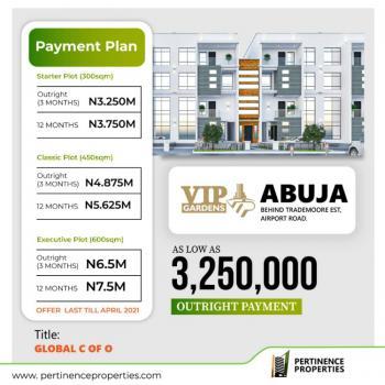 Global C of O Land, Vip Garden Behind Trademoore Estate Airports Road, Gwagwalada, Abuja, Mixed-use Land for Sale