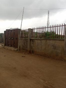 a Plot of Dry Land, Fenced Round with 3 Bedroom Set Back, Igando Road, Ikotun, Lagos, Residential Land for Sale