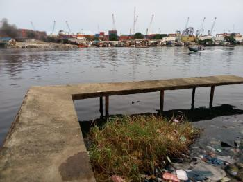 3.4 Acres of Land with Water-front Facility, Off Marine Road, Gra, Apapa, Lagos, Mixed-use Land for Sale