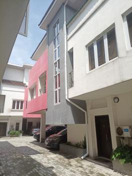 Service 4 Bedrooom Terrace Duplex with a Bq, Ikate, Lekki, Lagos, Terraced Duplex for Rent