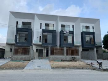 Newly Built 4 Bedroom Terrace Duplex with 1room Bq, Lekki Phase 1, Lekki, Lagos, Terraced Duplex for Sale