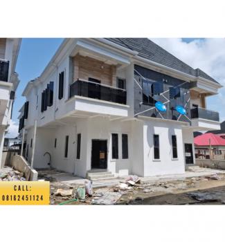 Newly Built 4 Bedroom Semi Detached Duplex + Bq, Off Chevron Toll Gate, Lekki, Lagos, Semi-detached Duplex for Sale