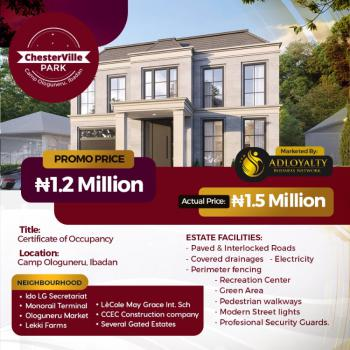Land Available in Amazing Location, Chesterville Park, Ologuneru, Ibadan, Oyo, Residential Land for Sale