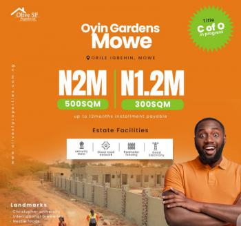 Land, Orile-igbehin, Mowe Ofada, Ogun, Residential Land for Sale