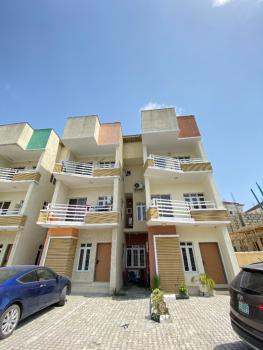 a Lovely Spacious 4 Bedroom Terrace Duplex with Bq, Osapa, Lekki, Lagos, Terraced Duplex for Sale