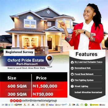 Land, Oxford Pride Estate, Ikwerre, Rivers, Residential Land for Sale