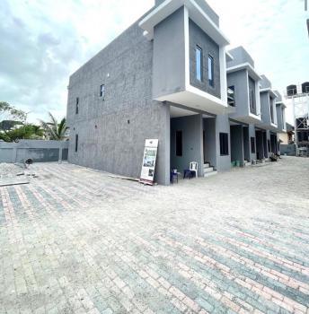 Newly Built 4 Bedrooms Terraced Duplex with Bq, Agungi, Lekki, Lagos, Terraced Duplex for Sale