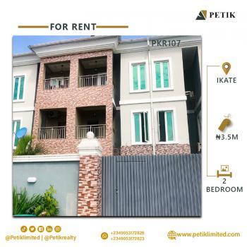 2-bedroom Terrace (shared Apartment), Ikate, Lekki, Lagos, Terraced Duplex for Rent