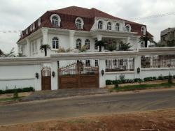 White House 16 Rooms 4 Sitting Room, By Guzape, Asokoro District, Abuja, Detached Duplex for Sale