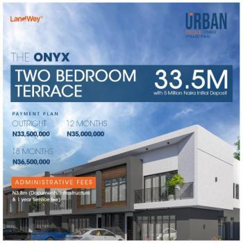 Beautiful 2 Bedrooms Terraced Duplex, Lekki Scheme 2, Ogombo, Ajah, Lagos, Terraced Duplex for Sale