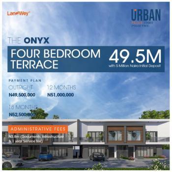Beautiful 4 Bedrooms Terraced Duplex, Urban Prime Three Phase 2, Ogombo, Ajah, Lagos, Terraced Duplex for Sale