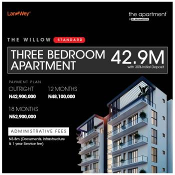Luxury 3 Bedroom Apartment, Monastery Road, Sangotedo, Ajah, Lagos, Block of Flats for Sale