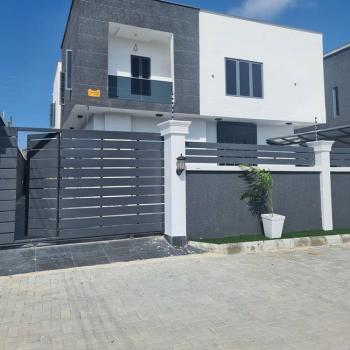 Luxurious 5 Bedrooms Fully Detached Duplex with Bq, Spacious Compound, Ikate, Lekki, Lagos, Detached Duplex for Sale