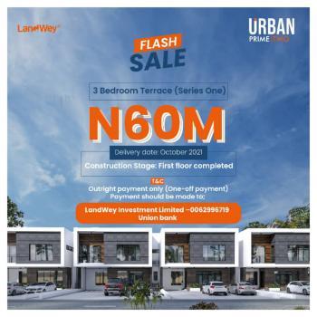 Luxury 3 Bedrooms Terraced Duplex [discounted], Monastery Road, Sangotedo, Ajah, Lagos, Terraced Duplex for Sale