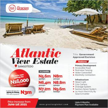 Beautiful Atlantic View Property, Off Monastery Road, Sangotedo, Ajah, Lagos, Residential Land for Sale