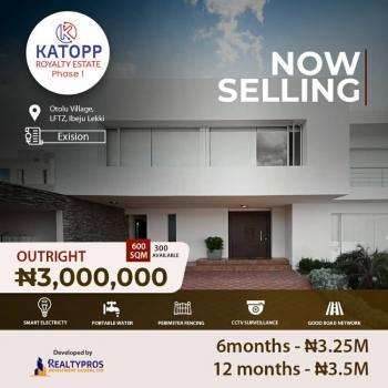 Estate Land in Prime Location, Kattop Royalty Estate, Otoolu, Close to Dangote Refinery, Lekki Free Trade Zone, Lekki, Lagos, Residential Land for Sale