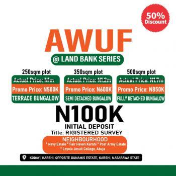 Awuf at Land Bank Series, Karshi,, Apo-karshi, Karshi, Abuja, Residential Land for Sale