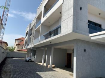 Newly Built Luxury 5 Bedrooms Terraced Duplex with 1 Room Bq, Off Durosimi Etti, Lekki Phase 1, Lekki, Lagos, Terraced Duplex for Sale