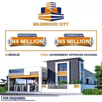 Plots of Dry Land in an Estate Facing The Express Road, Milebrook City Estate, Shapati-bogije, Ibeju Lekki, Lagos, Residential Land for Sale