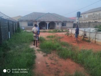 Well Built 4 Bedroom Bungalow on a Full Plot of Land, Oreyo, Bakare Street., Igbogbo, Ikorodu, Lagos, Detached Bungalow for Sale