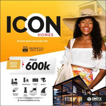 Land, Icon Homes, Odo-egiri, Epe, Lagos, Residential Land for Sale