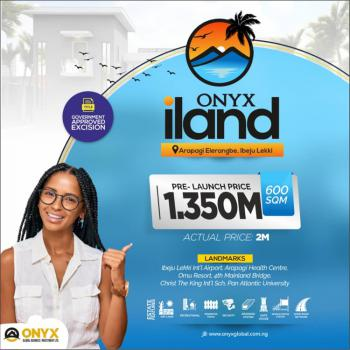 Acquire Lagoon View Land with Government Approved Title, Eleranigbe, Ibeju Lekki, Lagos, Residential Land for Sale