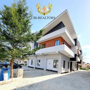 Newly Built Contemporary 4 Bedroom Semi Detached Duplex with Bq, Chevron 2nd Toll Gate Orchid, Lekki, Lagos, Semi-detached Duplex for Sale