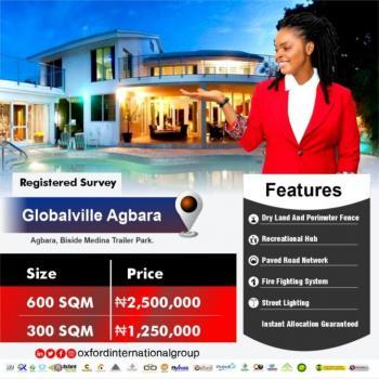 Registered Survey, Beside Trailer Park/ Global Ville Estate, Agbara-igbesa, Lagos, Mixed-use Land for Sale