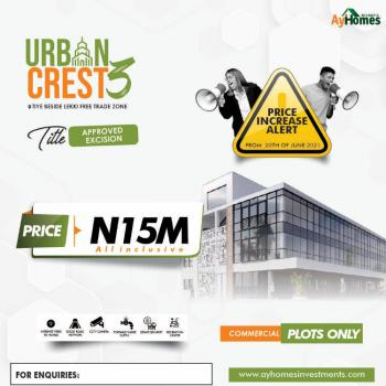 Commercial Plots of Land for Business, Lekki Free Trade Zone, Lekki, Lagos, Commercial Land for Sale