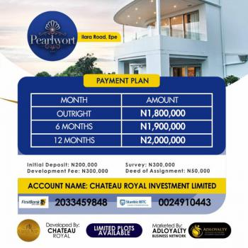 Land, Pearlwort, Epe, Lagos, Residential Land for Sale