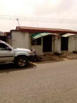 an Old 4 Bedroom Bungalow with Two Stores in Front, Aladinma, Owerri Municipal, Imo, Detached Bungalow for Sale