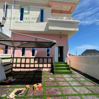 Luxury 4 Bedrooms House, Thomas Estate, Ajah, Lagos, Semi-detached Duplex for Sale