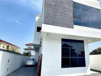 Luxury 4 Bedrooms with Bq, Chevron, Lekki Phase 1, Lekki, Lagos, Detached Duplex for Sale