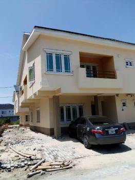 Newly Built 4 Bedroom Terrace Duplex (carcass), Lekki Gardens Estate Phase 4, Ajah, Lagos, Terraced Duplex for Sale