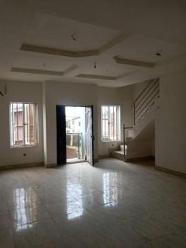 4 Bedroom Terraced Duplex with a Room Bq, Off Bode Thomas, Surulere, Lagos, Terraced Duplex for Sale