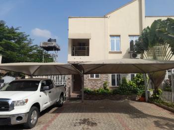 4 Bedrooms Terraced Duplex with a Private Swimming Pool and 2 Rooms Bq, Ebitu Ekiwe Street, Jabi, Abuja, Terraced Duplex for Sale