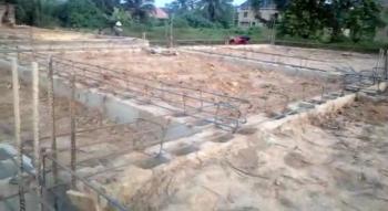 2 Plots of Land with Foundation, Satellite Estate, Akpuoga, Enugu, Enugu, Residential Land for Sale
