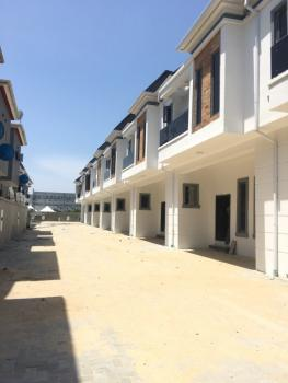 Newly Built 4 Bedrooms Terraced Duplex with Spacious Compound, 2nd Tollgate, Lekki Phase 2, Lekki, Lagos, Terraced Duplex for Sale