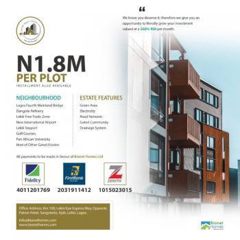 Own a Plot, Castle Hills Estate, Eleranigbe, Ibeju Lekki, Lagos, Residential Land for Sale