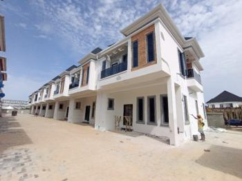 Exquisitely Finished 4 Bedroom Terrace Duplex in a Mini Estate, 2nd Toll Gate, Lekki, Lagos, Terraced Duplex for Rent