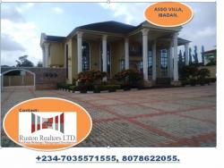 7 Bedroom Mansion with a 4 Bedroom Chalet, Jericho Gra, Ibadan, Oyo, Detached Duplex for Sale