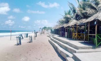 Ocean View Land for Beachfront Homes and Resort, Gracias Atlantic View Estate, Monastery Road, Sangotedo, Ajah, Lagos, Residential Land for Sale