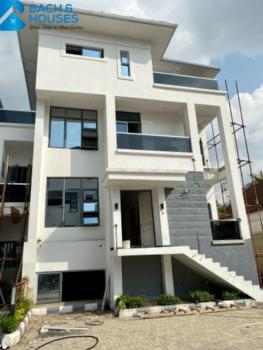 an Opulent  5 Bedroom Terrace with 2 Room Bq and a Gym, Asokoro District, Abuja, Terraced Duplex for Sale