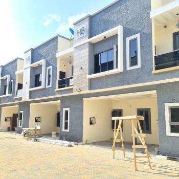 Luxury 4 Bedroom Terrace Duplexes, Orchid Road, Chevron, Lekki, Lagos, Terraced Duplex for Sale
