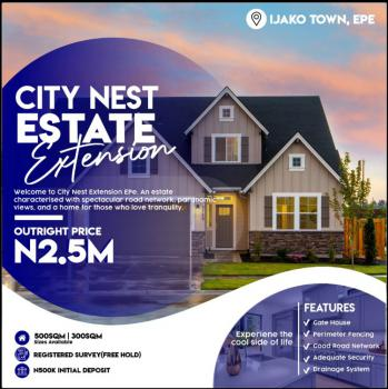 Cheap Land, City Nest Extension, Ijako Town, Epe, Lagos, Residential Land for Sale