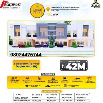 3 Bedroom Terrace Duplex Plus Bq, Ajah, Lagos, Terraced Duplex for Sale