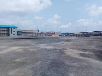 14,000sqm Paved & German Floored Land, Oshodi Apapa Express Way, Oshodi, Lagos, Commercial Land for Rent