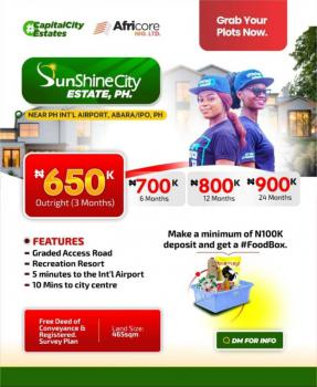Land, Sunshine Estate,  Abara, Ipo, Very Close to The International Airport, Port Harcourt, Rivers, Residential Land for Sale
