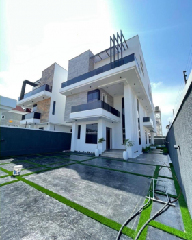 Contemporary 5 Bedroom Fully Detached Duplex with Cinema and Pool, Lekki Phase 1, Lekki, Lagos, Detached Duplex for Sale
