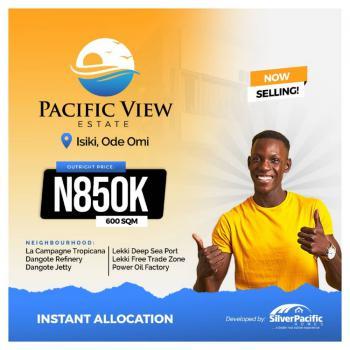 600sqm Land Ibeju Lekki, Ibeju Lekki, Lagos, Residential Land for Sale